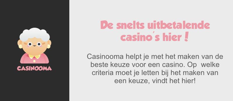 Snelst uitbetalende casino's